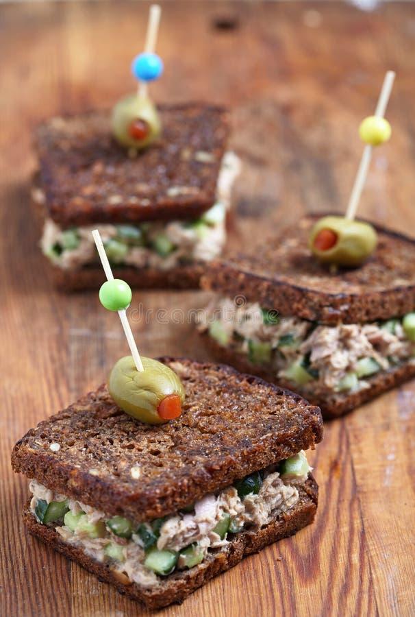 Tuna Salad Sandwich imagem de stock
