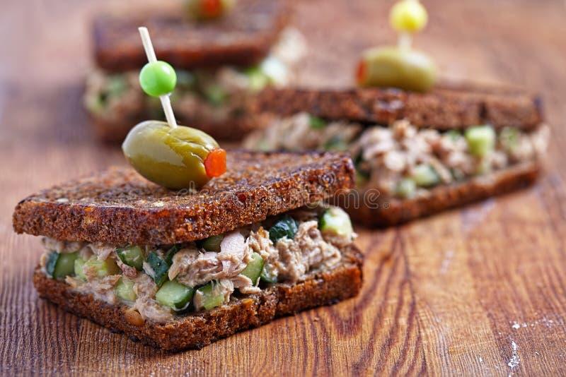 Tuna Salad Sandwich fotografia de stock royalty free