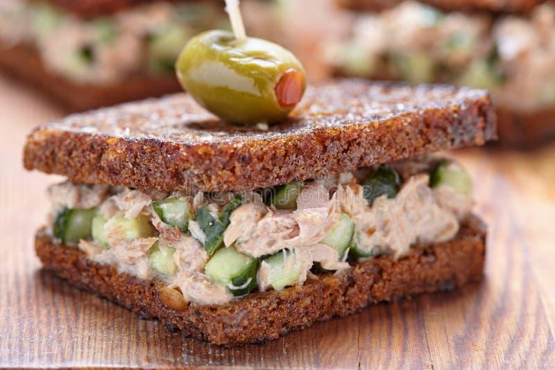 Tuna Salad Sandwich imagens de stock royalty free
