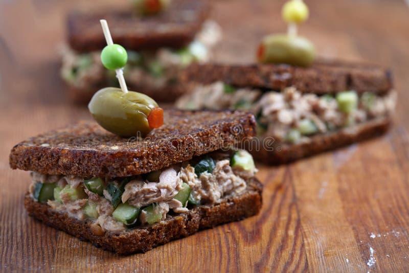 Tuna Salad Sandwich fotos de stock