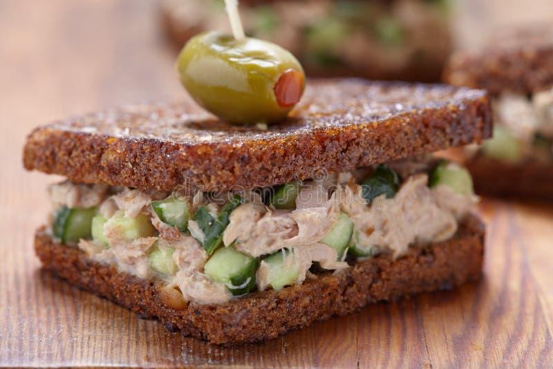 Tuna Salad Sandwich fotos de stock royalty free
