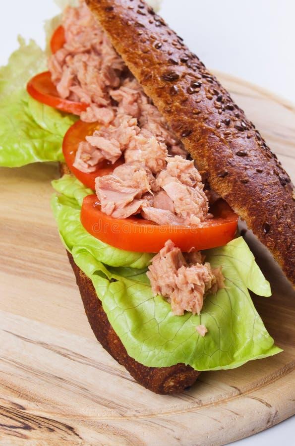 Download Tuna sandwich stock image. Image of food, prepared, tomato - 17066167