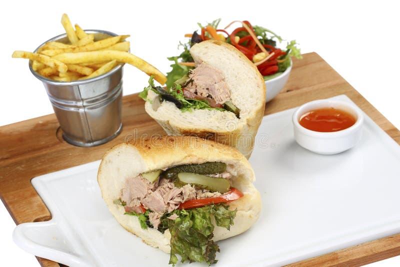 Tuna Sandwich fotos de archivo libres de regalías
