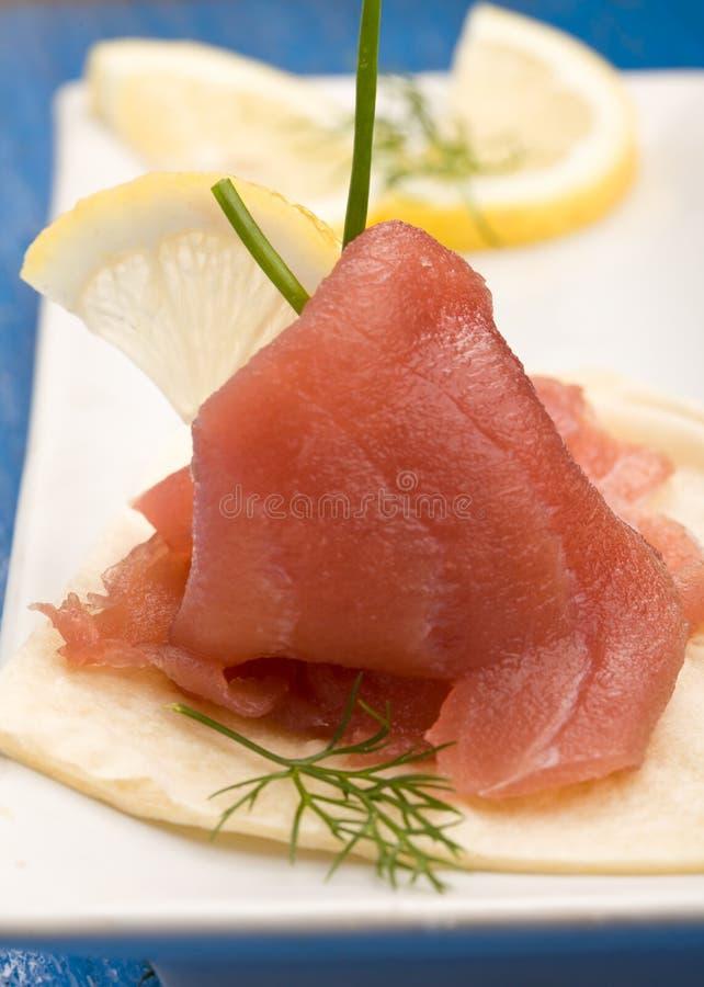 Free Tuna Sandwich Appetizer Royalty Free Stock Photo - 18489595