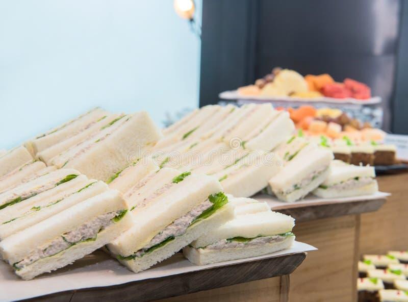 Tuna Sandwich Salad image stock