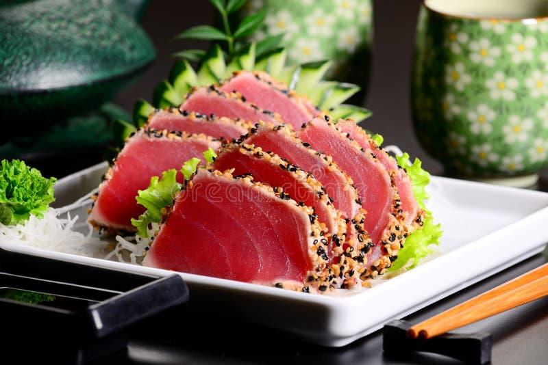Tuna sashimi royalty free stock images
