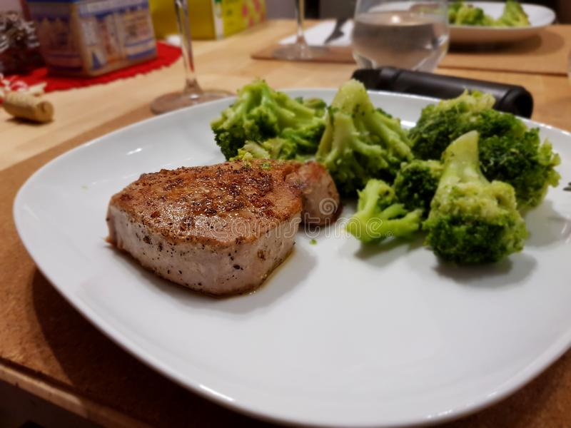Tuna Steak stockfotos