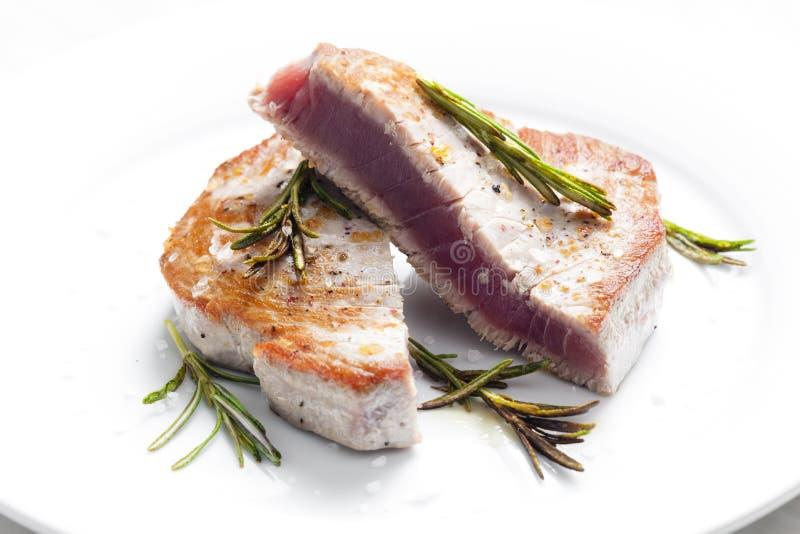 Tuna Steak lizenzfreie stockfotografie