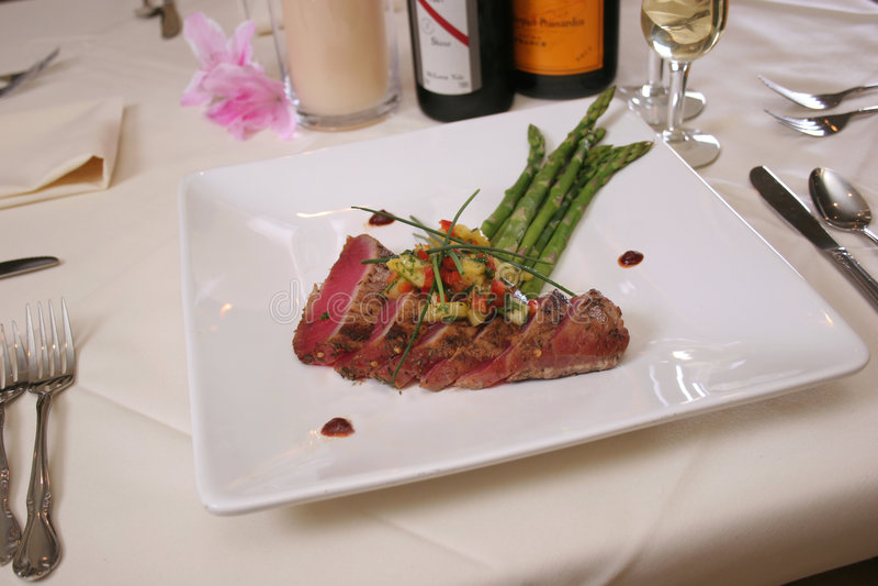 Tuna Steak royalty free stock photo