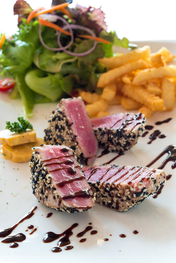 Tuna Steak images libres de droits
