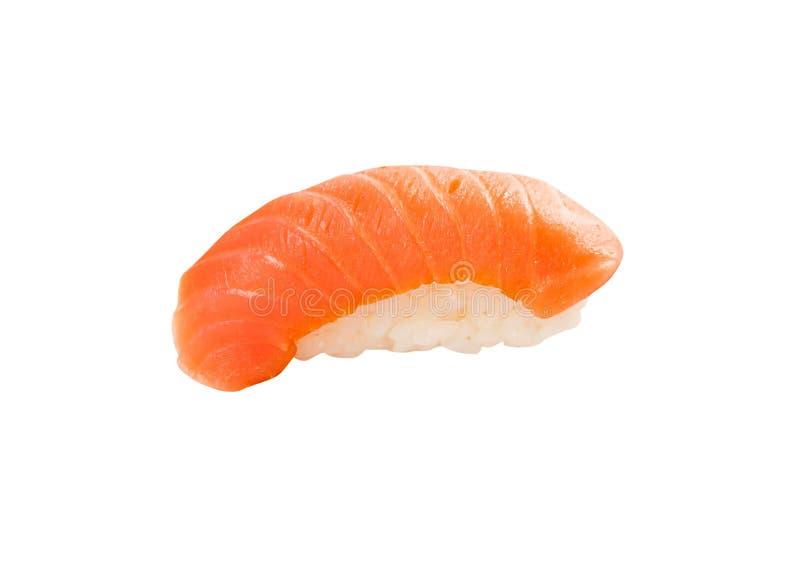 Tuna Sushi isolou-se no branco imagem de stock