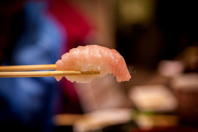 Tuna Toro Sushi délicieuse images stock