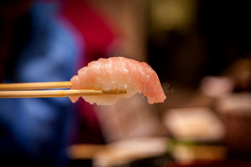 Tuna Toro Sushi deliciosa imagenes de archivo