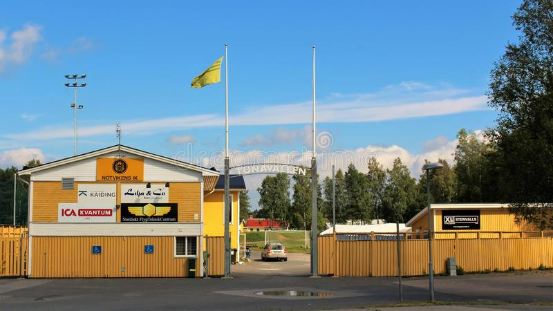 Tunavallen em Luleå imagens de stock royalty free