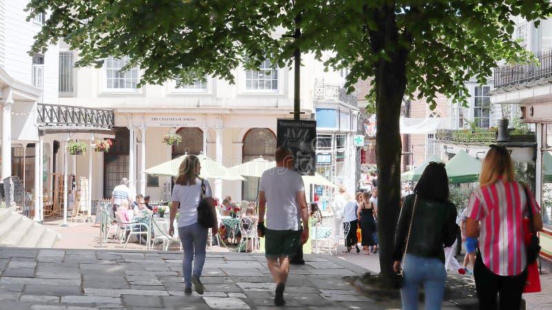 Tunbridge väller fram ginfestival royaltyfri fotografi