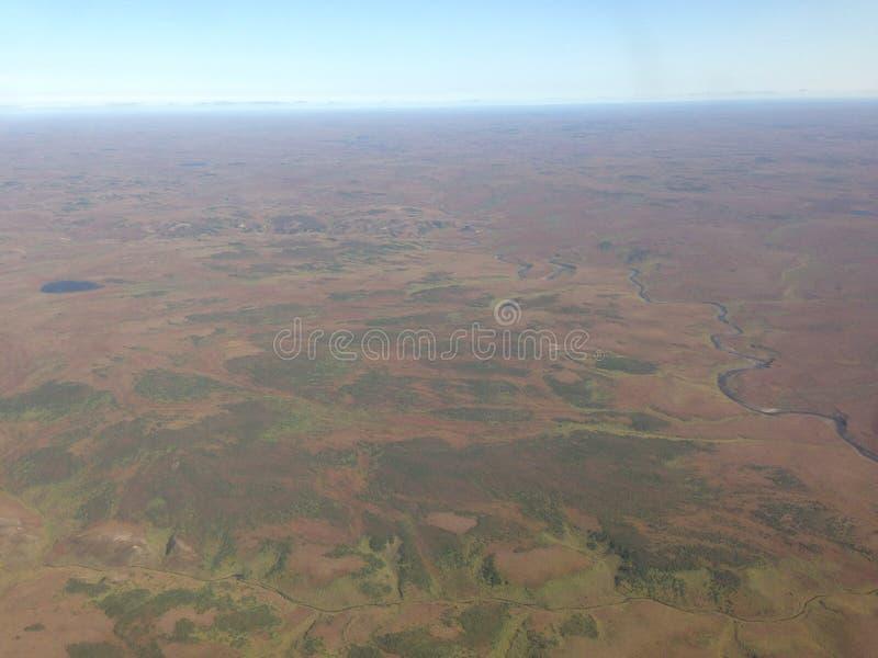 Tundry pustynia zdjęcie royalty free