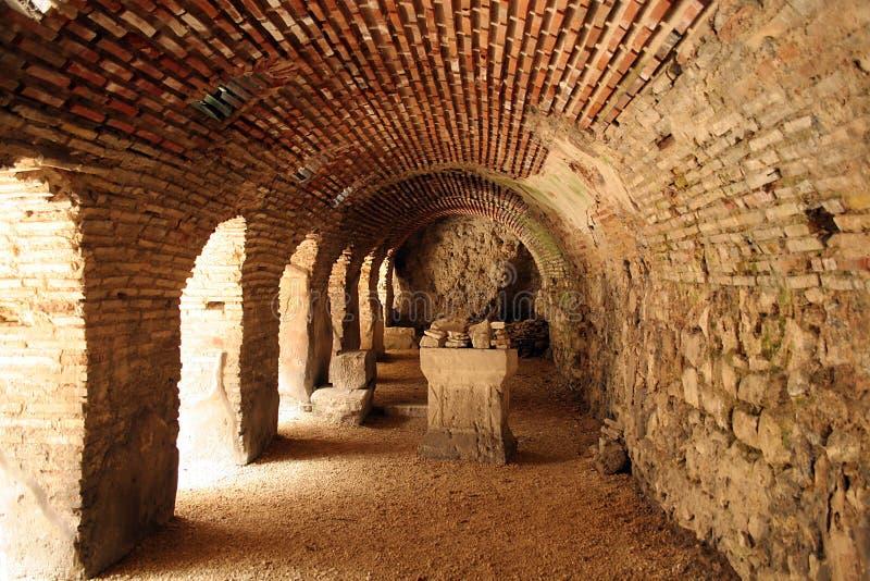 tunel стоковое изображение rf