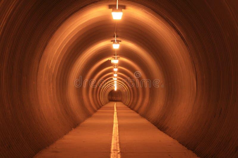 Tunel fotografia royalty free