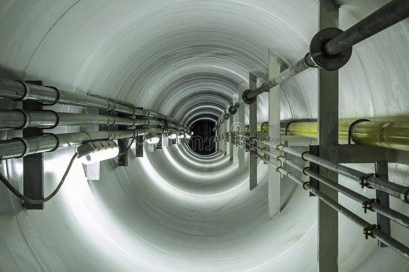 Tunel image stock