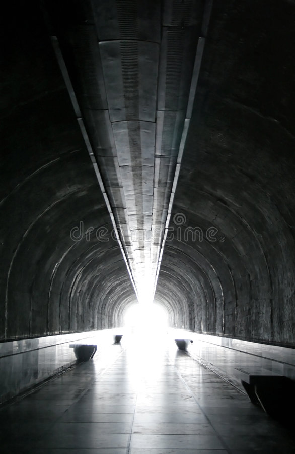Tunel stock photography