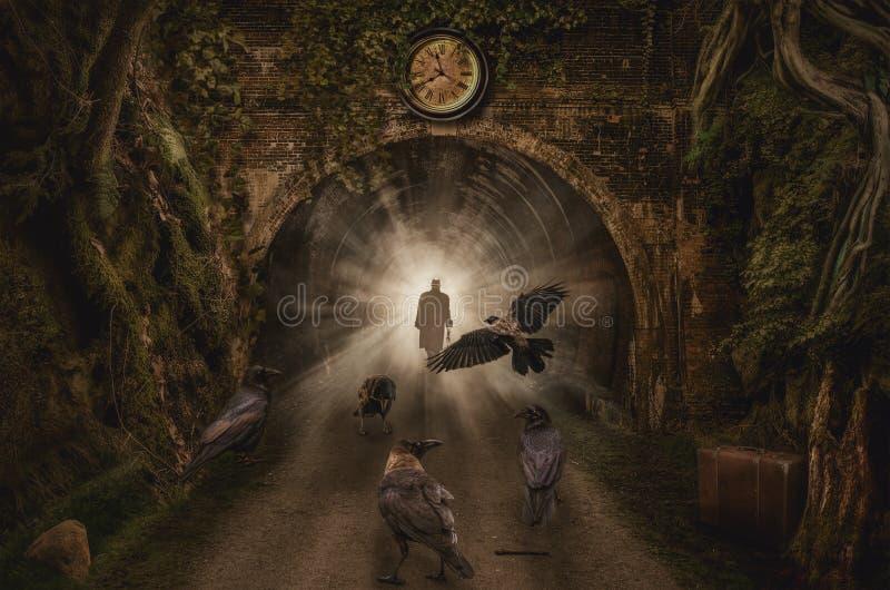 tunel ilustracja wektor