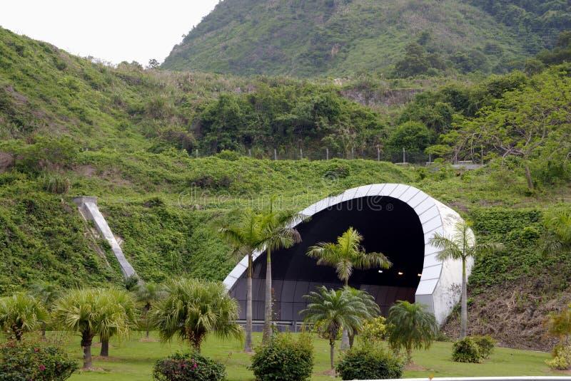 Tunel foto de archivo