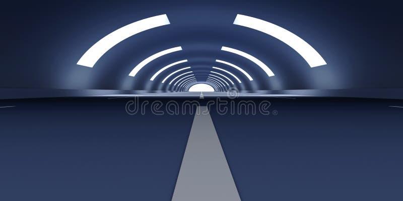 tunel ilustracji