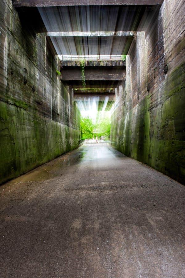 Tunel del ponte fotografia stock libera da diritti