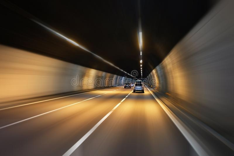 tunel jazdy zdjęcia royalty free