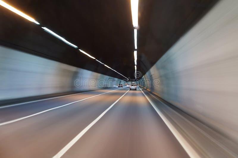 tunel jazdy zdjęcie stock
