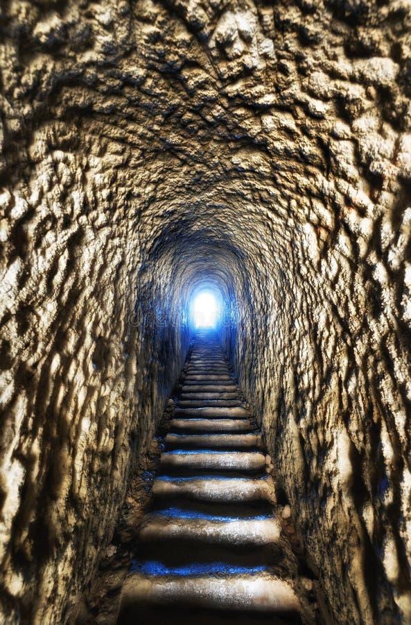 Tunel plaży spacer Dunedin Nowa Zelandia zdjęcia royalty free