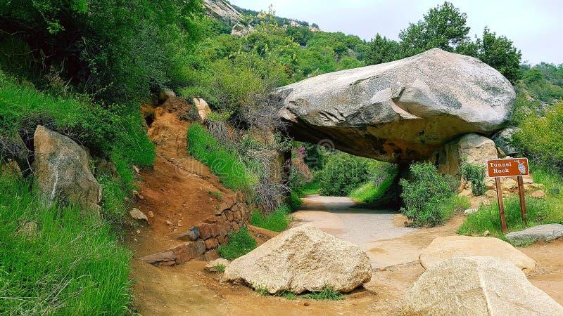 Tunel skała obrazy stock