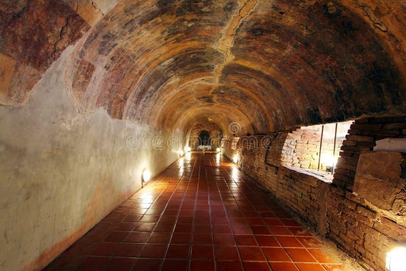 Tunel w świątyni fotografia stock