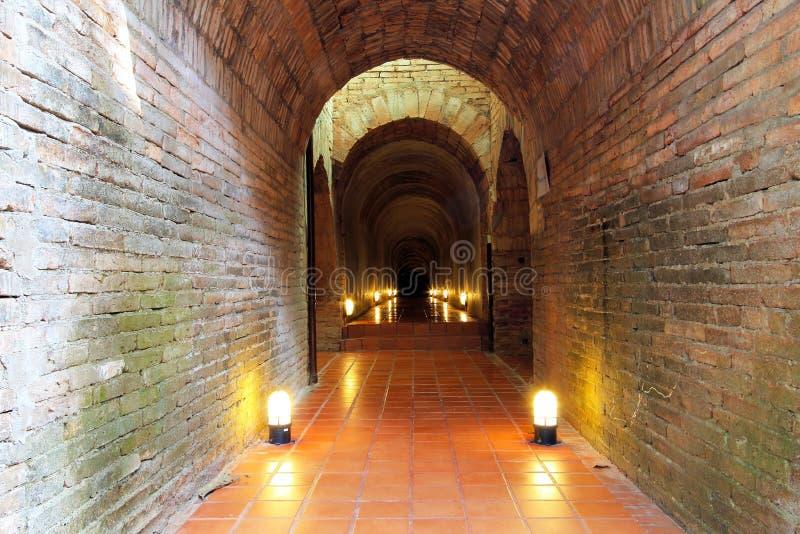 Tunel w świątyni 4 obraz royalty free
