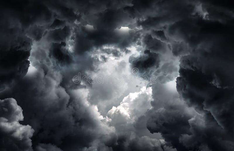 Tunel w chmurach zdjęcia royalty free