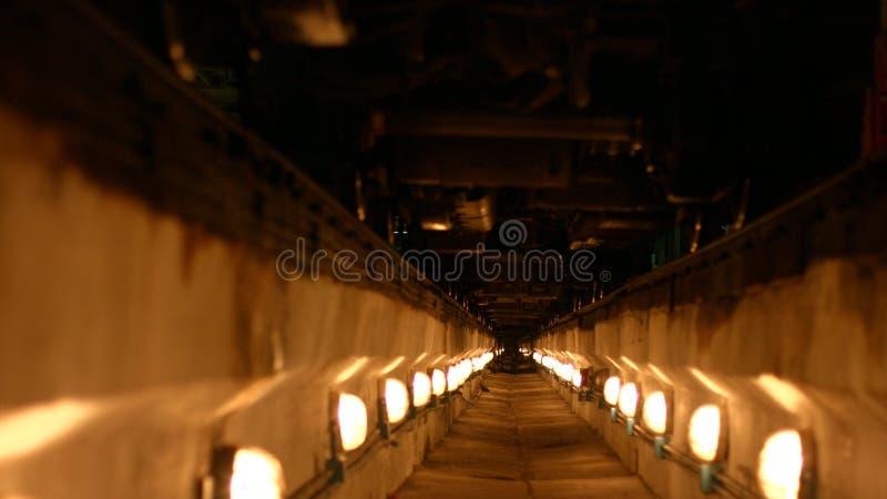 Tunele iluminuj?cy lampiony zdjęcia stock