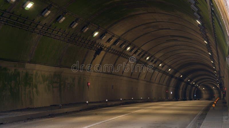 Tunelowa droga zdjęcie royalty free