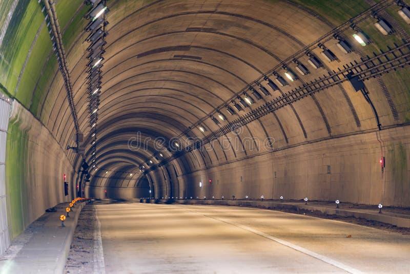Tunelowa droga zdjęcia stock