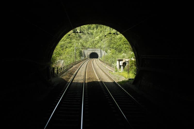 tunelu kolejowego fotografia royalty free