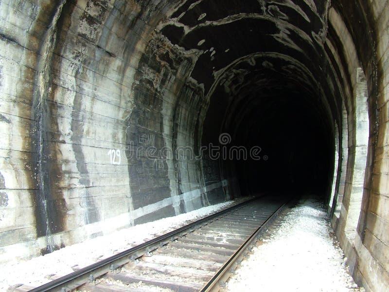 tunelu kolejowego zdjęcie royalty free