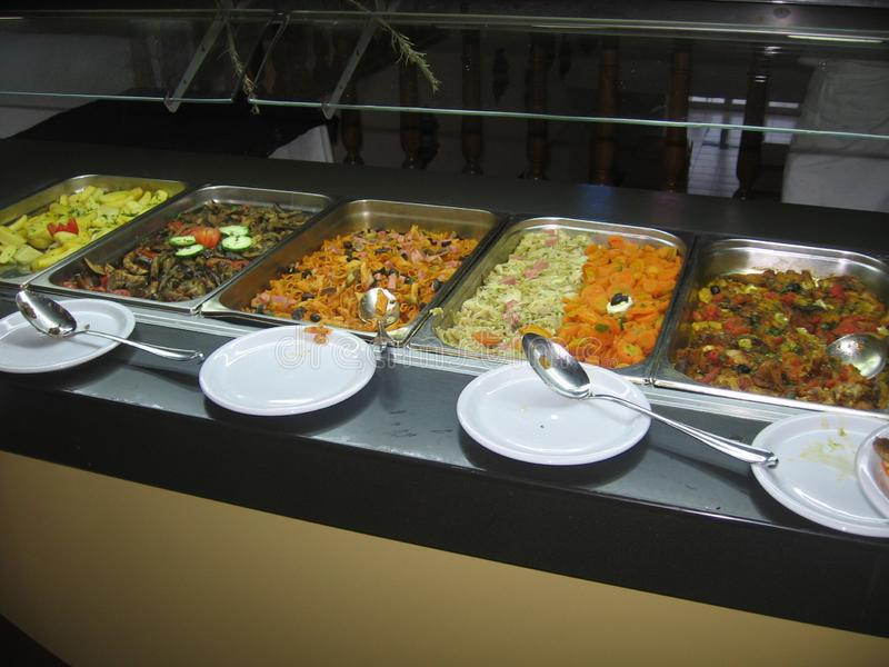 Tunesië - Mediterraan voedsel royalty-vrije stock foto's