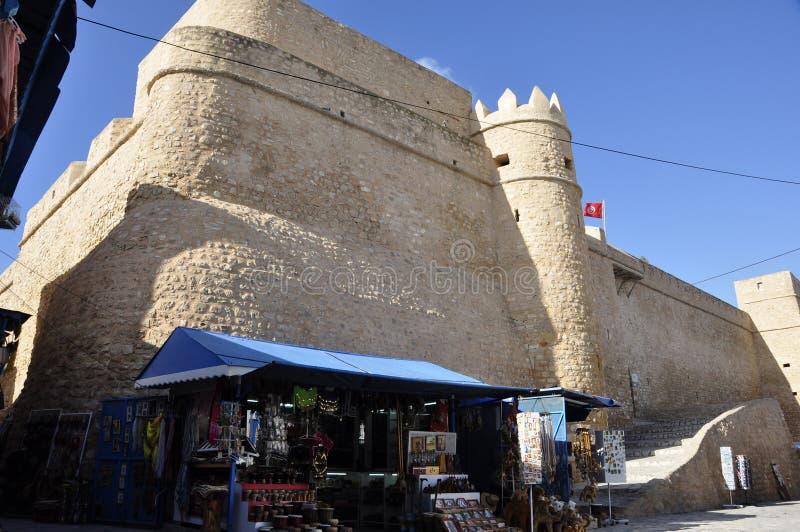 Tunesia: Замок в medina Hamamet стоковые фото