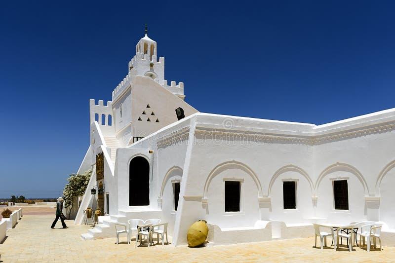 tunesien Djerba Das Guellala-Museum lizenzfreie stockbilder