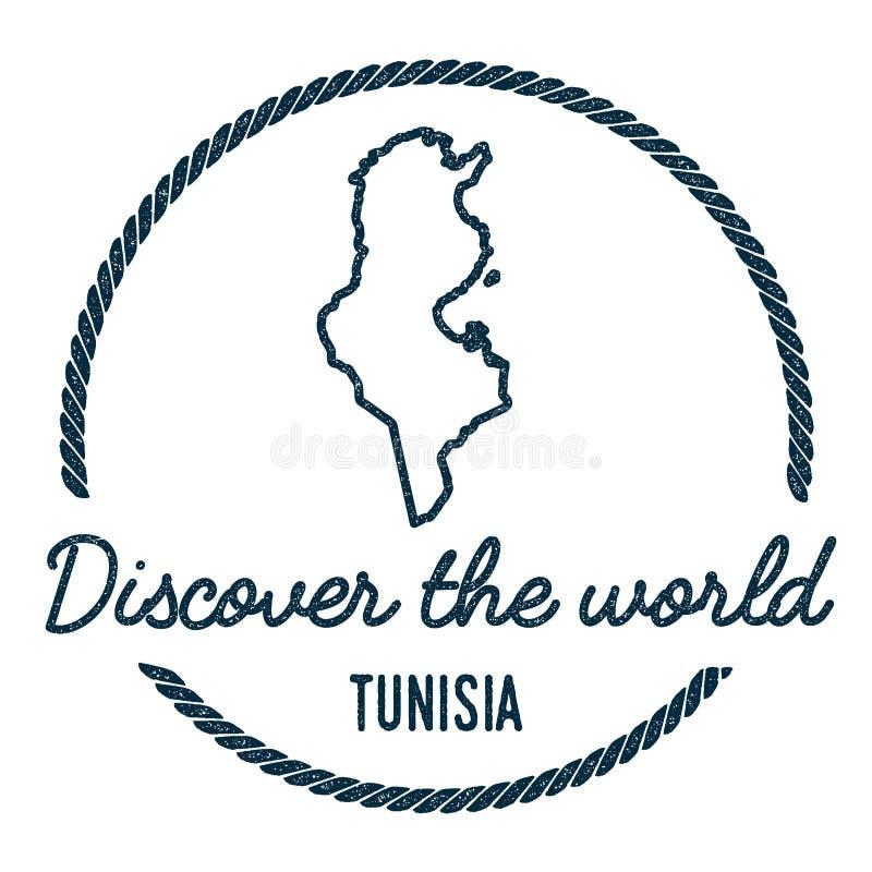 Tunesien Karte Welt.Tunesien Auf Weltkarte Vektor Abbildung Illustration Von Stadt