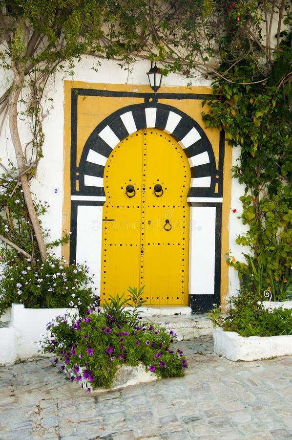 Tunesische Architektur lizenzfreies stockbild