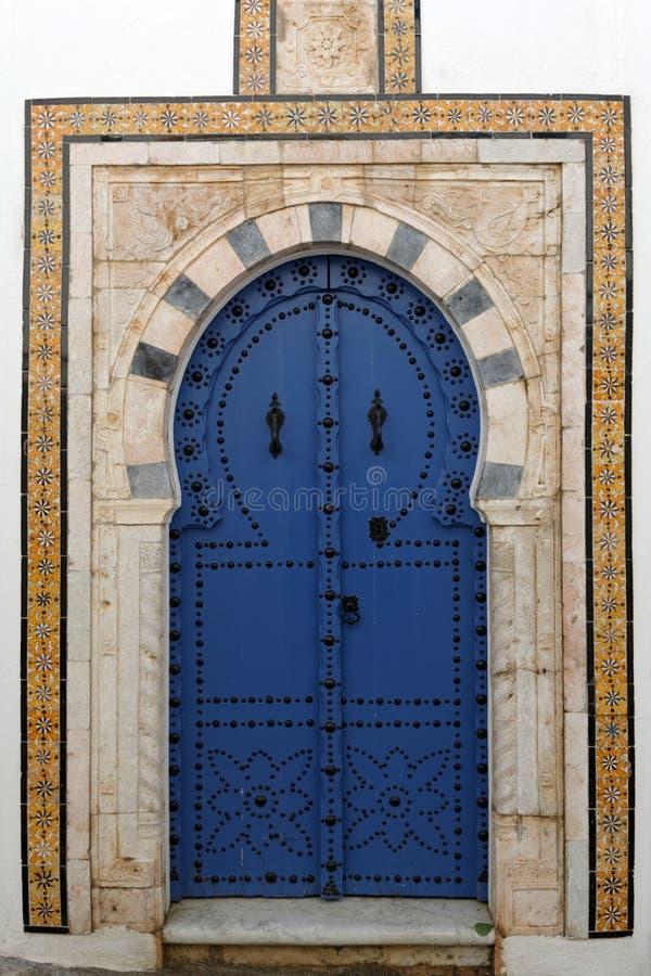 Tunesische Architektur lizenzfreie stockfotos
