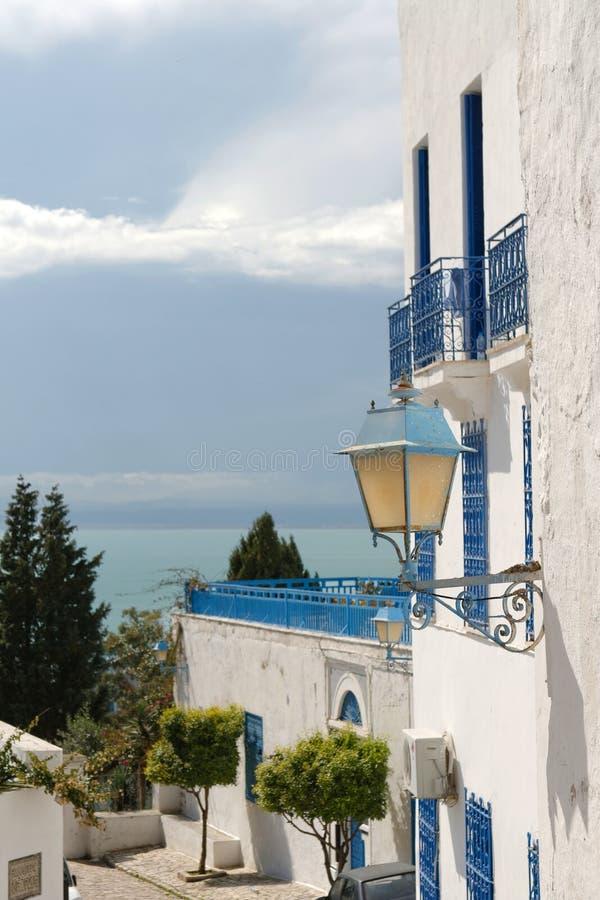 Tunesische Architektur lizenzfreie stockbilder