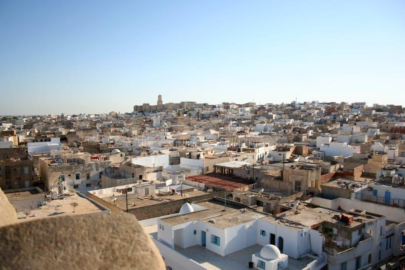 Tunesische Stadt stockbilder