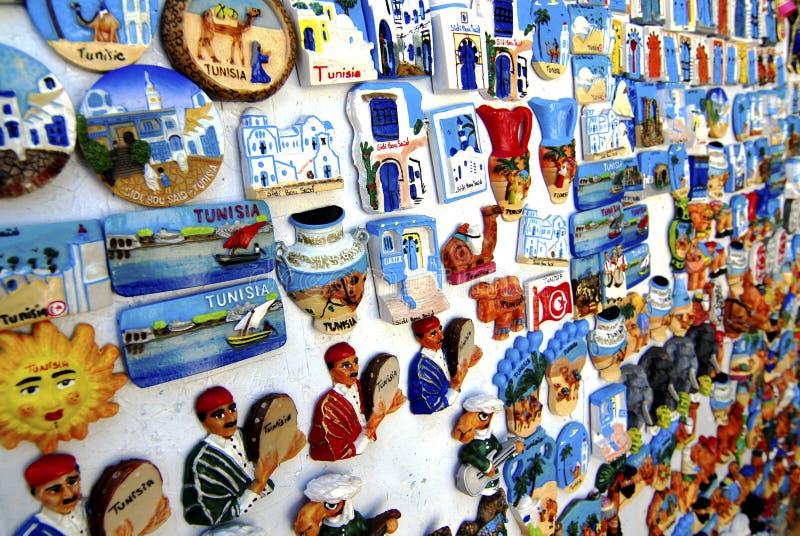 Tunesischer Andenkenmagnet lizenzfreie stockfotografie