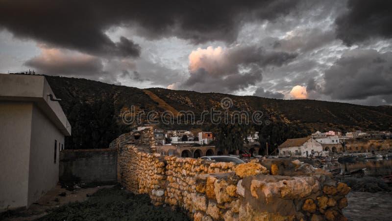 Tunezja natury ، tourisme i skutki fotografia royalty free